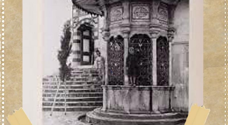 أرشيف عكا: سبيل الطاسات بجانب جامع الجزار